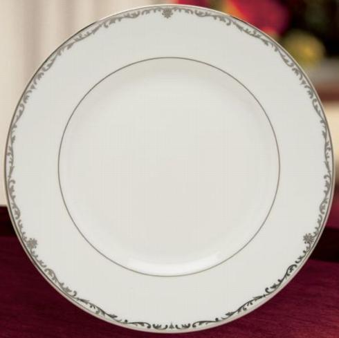 $24.99 Coronet Platinum Dinner Plate-Discontinued