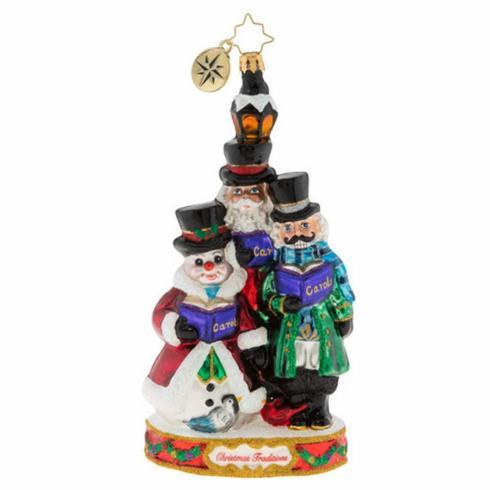 Ornament-Trio of Carolers collection with 1 products