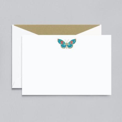 $32.00 Butterfly Correspondence Cards and Envelopes/10