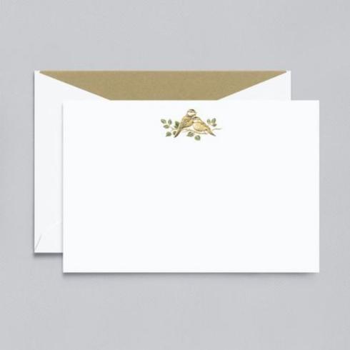 $29.00 Lovebirds Correspondence Cards