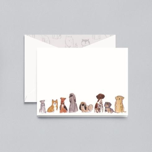 $16.00 Dog Folded Notes