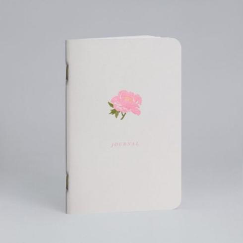 $12.00 Notebook-Peony