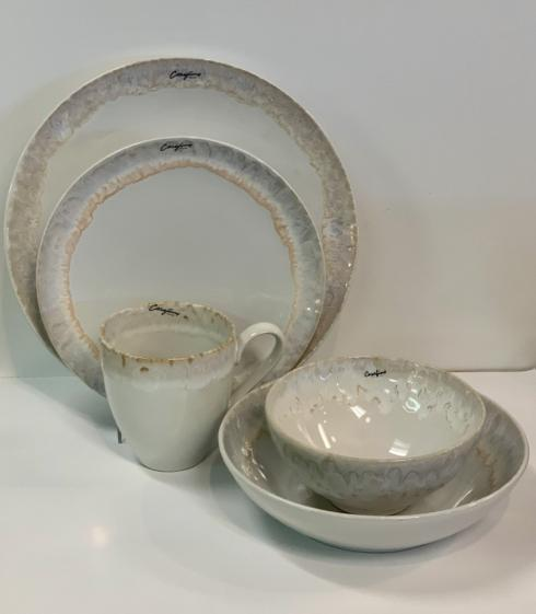 Pieces of Eight Exclusives   Taormina White by Casafina Five Piece Place Setting  $112.00