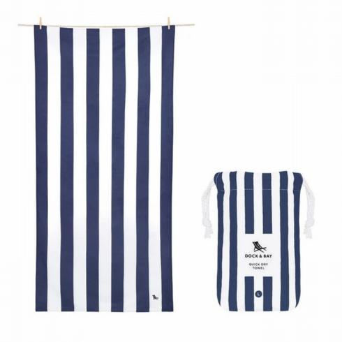 $29.95 Cabana Navy Beach Towel