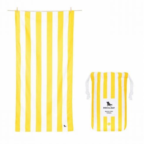 $27.50 Cabana Yellow Beach Towel
