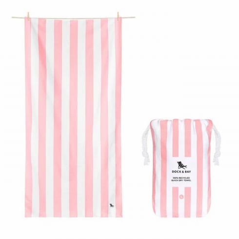 $27.50 Cabana Pink Beach Towel