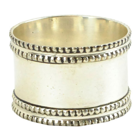 Napkin Ring-Silver Band collection with 1 products