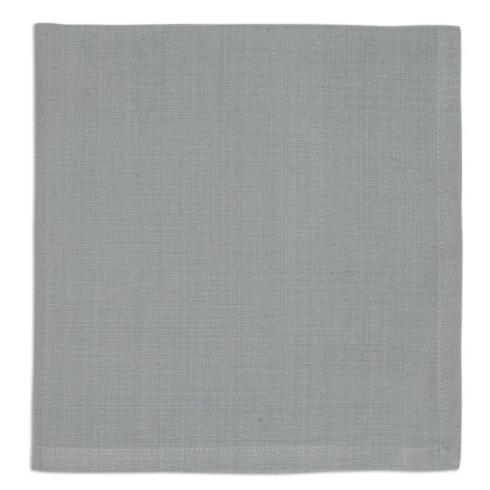 Pieces of Eight Exclusives  Napkins & Placemats Napkin-Dove Grey $4.95