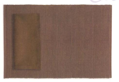 Design Imports   Napkin-Cocoa $4.95