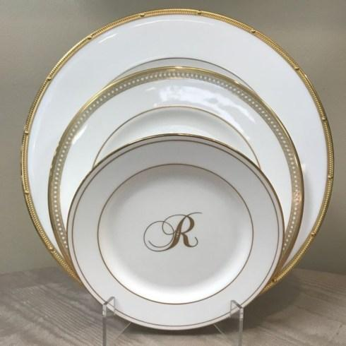 3 Piece Place Setting-Rochelle Gold/Jeweled Jardin/Federal Gold Monogram collection with 1 products