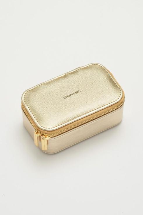 $29.95 Mini Jewelry Box-Gold