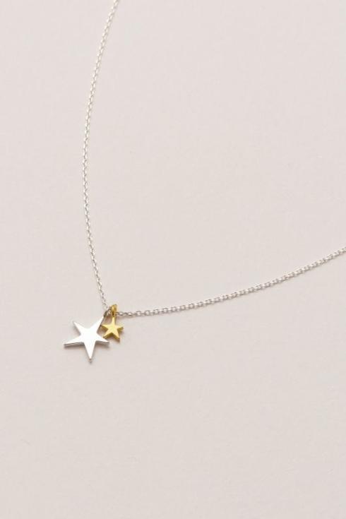$26.95 Bright Star Rhinestone Necklace