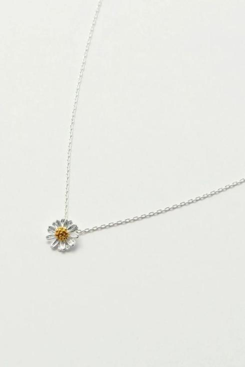 $26.95 Wildflower Rhinestone Necklace