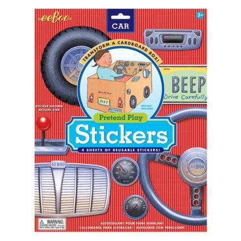 $15.95 Car Pretend Play Stickers