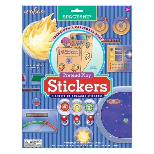 $15.95 Spaceship Pretend Play Sticker