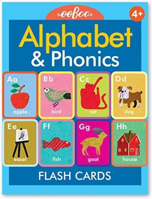 $14.95 Alphabet & Phonics Flash Cards