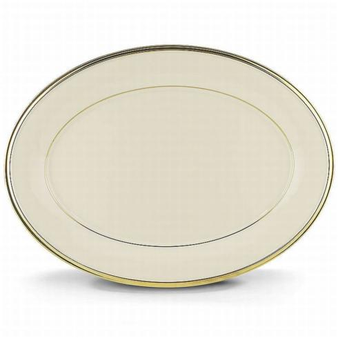 """Pieces of Eight Exclusives   Eternal Ivory Platter 13"""" $169.95"""