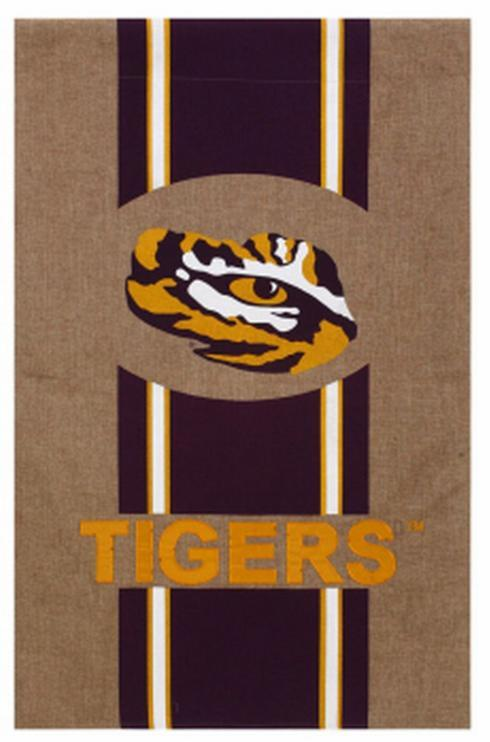 LSU Flag-Burlap collection with 1 products