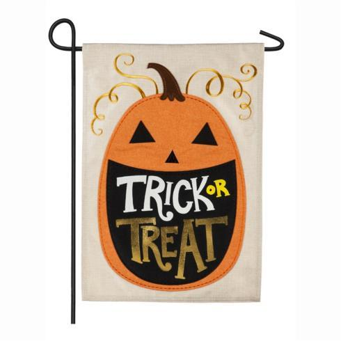 $15.95 Flag-Trick or Treat Pumpkin