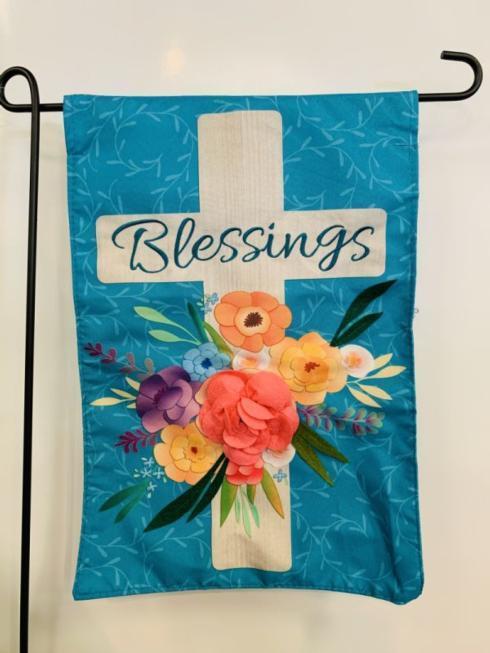 $14.95 Easter Blessings Garden Flag