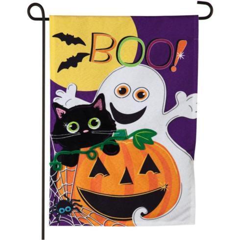 $15.95 Halloween Boo-Garden Flag