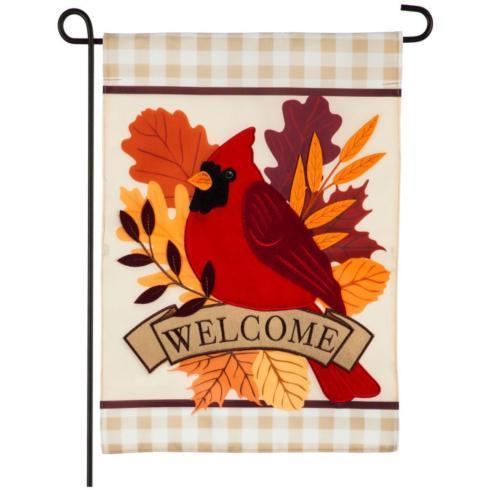 $15.95 Autumn Cardinal Garden Flag