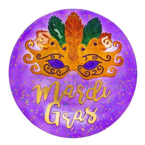 Pieces of Eight Exclusives Louisiana Favorites Mardi Gras Mardi Gras Bird Bath $49.95
