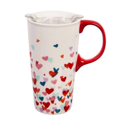 $16.95 Valentine\'s Ceramic Travel Mug