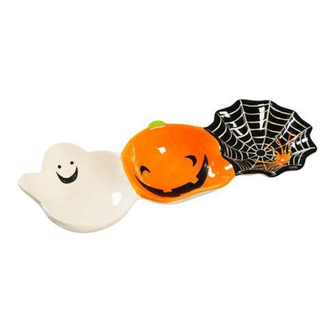 $28.50 Halloween Bowl Trio-Ceramic