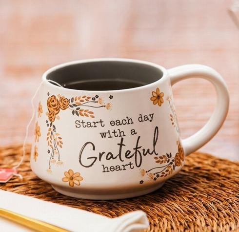 Grateful Heart Ceramic Mug collection with 1 products