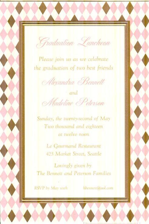 $17.95 Invitation-Belvedere Blush