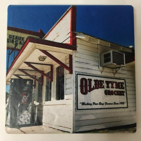 Pieces of Eight Exclusives Louisiana Favorites Louisiana Must Haves Coaster-Old Tyme Grocery Color $9.95