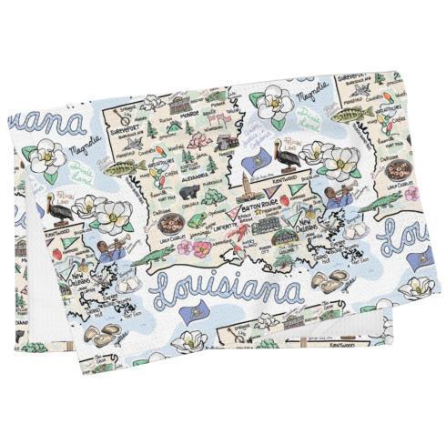 $19.95 Louisiana Kitchen Towel
