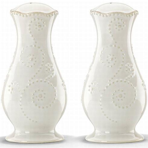 French Perle White Salt/Pepper collection with 1 products