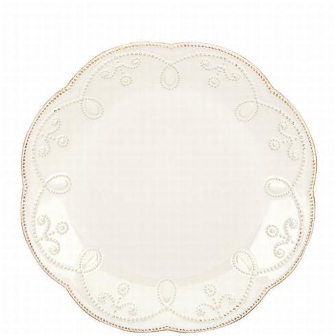 French Perle White Accent Plate collection with 1 products