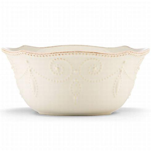 French Perle White Cereal Bowl collection with 1 products