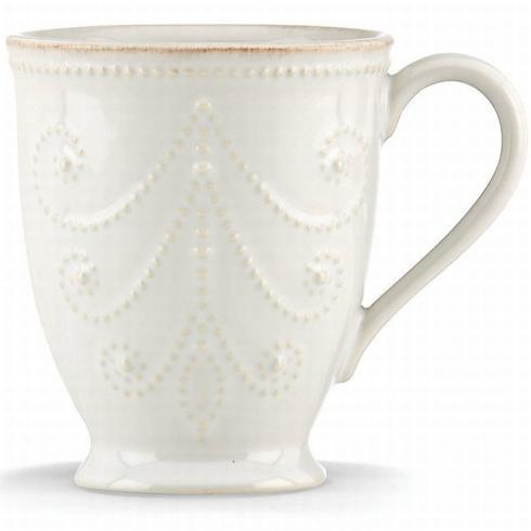 French Perle White Mug collection with 1 products