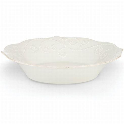 French Perle White Pasta Bowl collection with 1 products