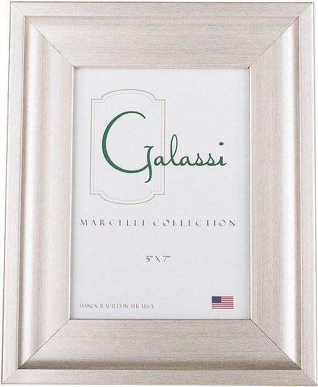 $34.00 Marcelli Bristle Silver 5x7