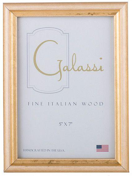 F.G. Galassi   Pearl Gold 5x7 Photo Frame $36.00
