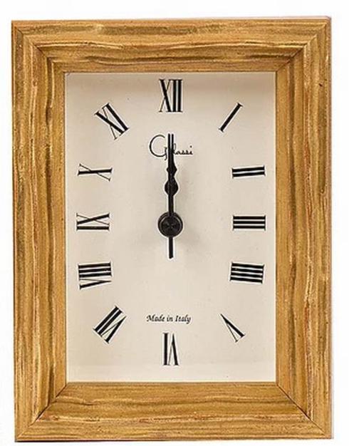 F.G. Galassi   Gold Traviata Clock $55.00