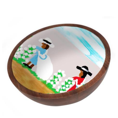 Pieces of Eight Exclusives   Cotton Picking Mango Bowl-Small $49.50