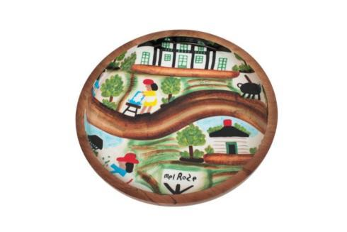 Mango Wood Bowl-Day at Melrose Plantation collection with 1 products