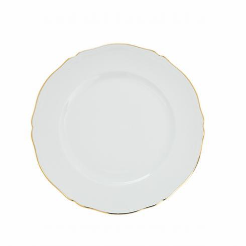 Pieces of Eight Exclusives   Corona Gold Salad Plate $45.00