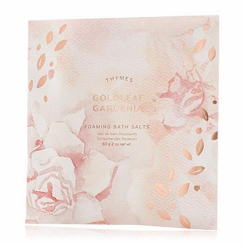 Goldleaf Gardenia Bath Salts Envelope collection with 1 products
