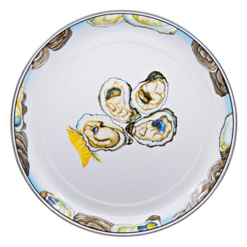 Pieces of Eight Exclusives   Oyster Medium Round Tray $56.00