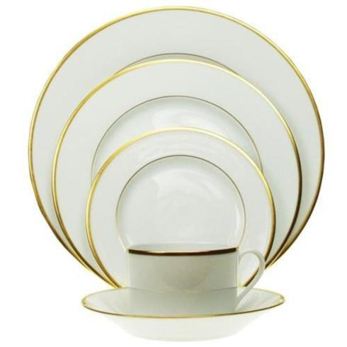 Pieces of Eight Exclusives   Orsay Gold by Haviland five piece place setting $370.00