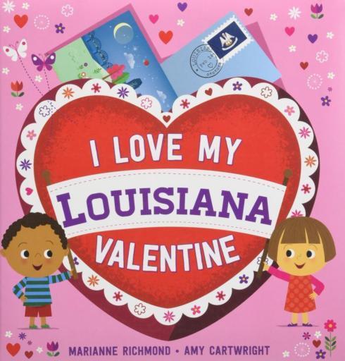 $9.99 Book-I Love My Louisiana Valentine