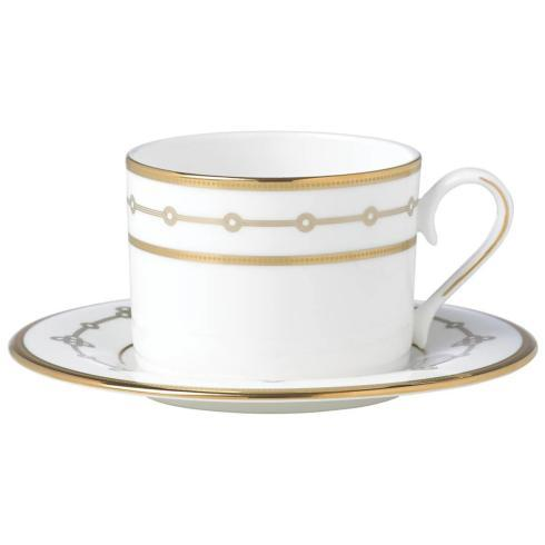 Pieces of Eight Exclusives   Jeweled Jardin Cup and Saucer $60.90