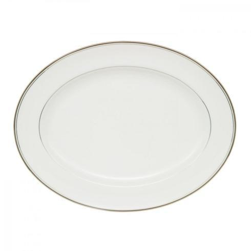 Kilbarry Platinum Oval Platter-Discontinued collection with 1 products